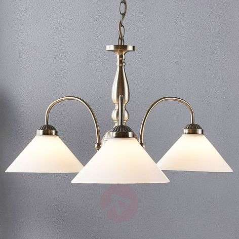 Otis - pendant light with three lampshades