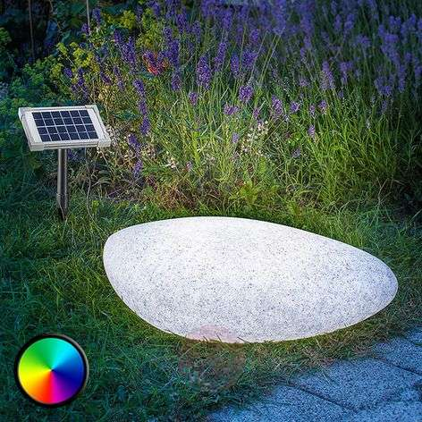 Outdoor decorative light solar LED Stone 40-3012503-32