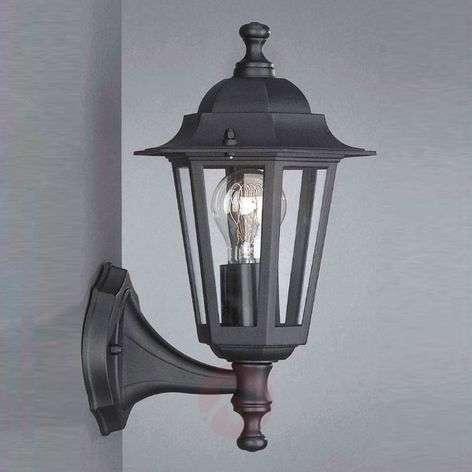 Outdoor wall lamp Peking black standing-6500177-31