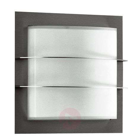 Outdoor wall light 427 with decorative struts