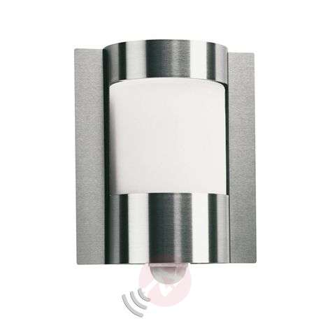 Outdoor wall light 437 with a motion sensor
