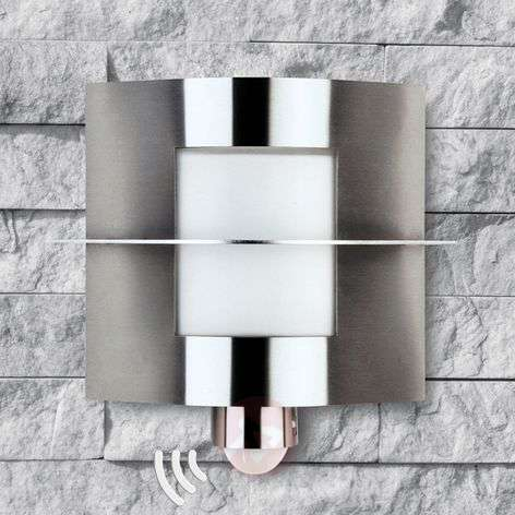 Outdoor wall light 441 with a motion sensor
