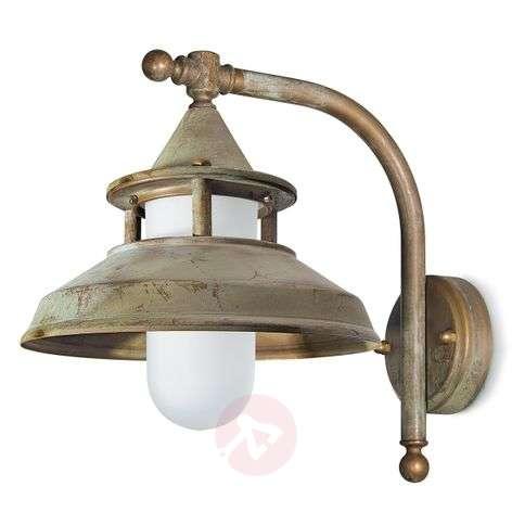 Outdoor wall light Antique, 30 cm, antique brass