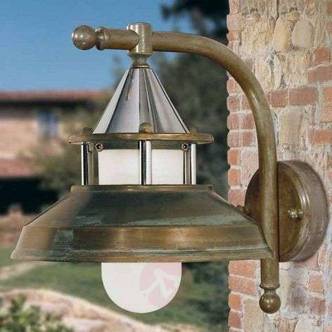 Outdoor wall light Antique, 30 cm, antique-copper