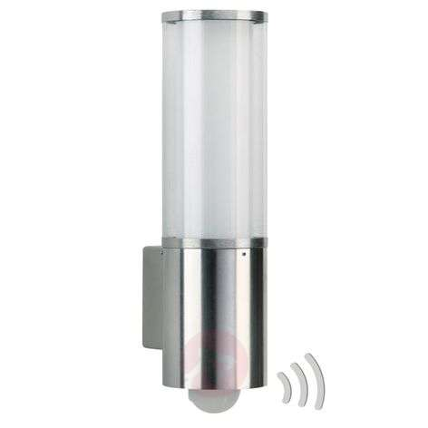 Outdoor wall light Asmara with motion detector