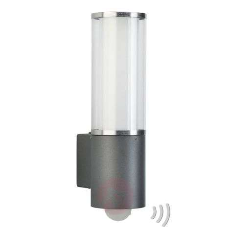 Outdoor wall light Elettra with motion detector