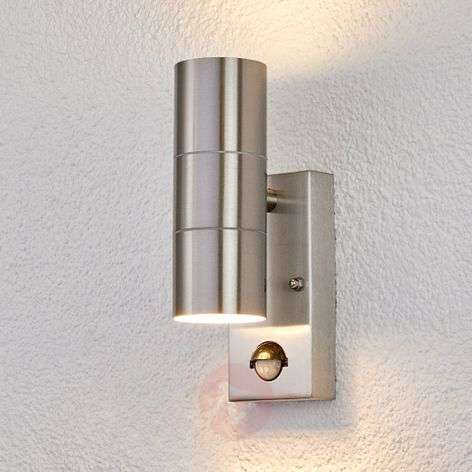 Outdoor wall light Eyrin with motion detector