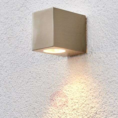 Outdoor wall light Haven, made of stainless steel