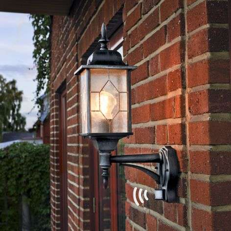 Outdoor wall light Milano with motion sensor