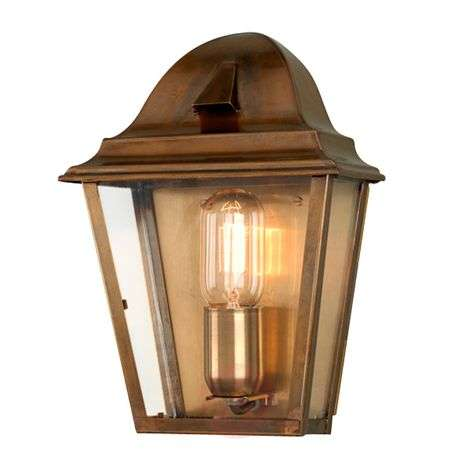 Outdoor wall light St. James Brass