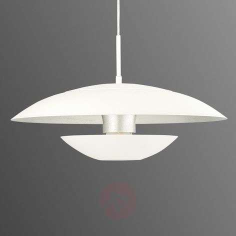 Outside white/inside silver - Nuvano pendant light