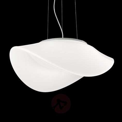 Oval glass hanging light Balance
