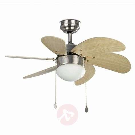 PALAO Attractive Ceiling Fan, Matt Nickel-3506039-31