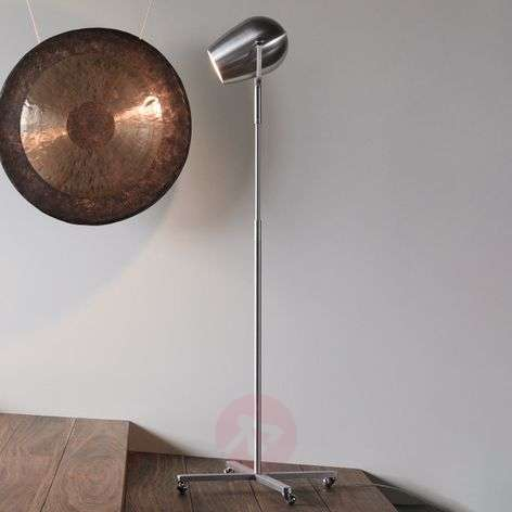 Pan Am - a designer LED floor lamp on wheels