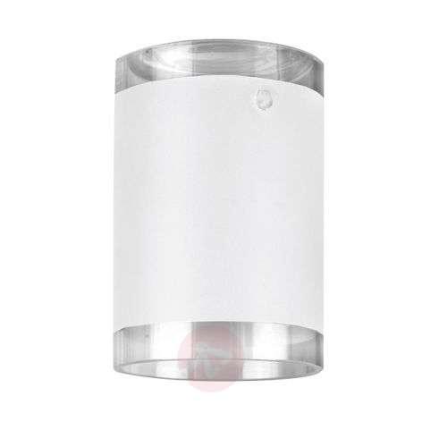 Partly-satinised shade LED HV spotlight track4