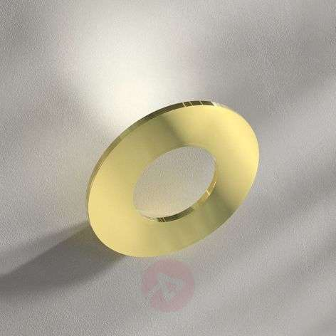 Passepartout - LED wall light in brass