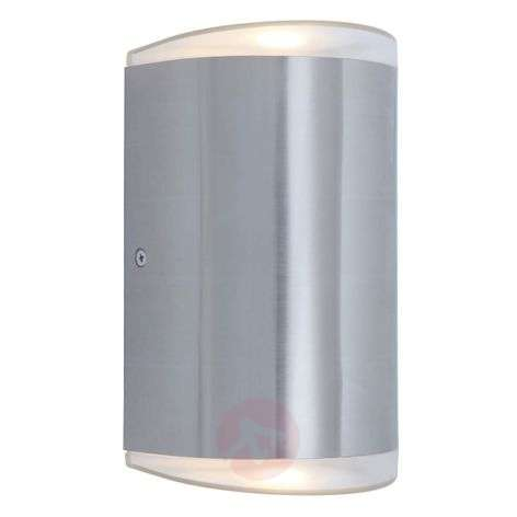 Path LED outdoor wall light, stainless steel