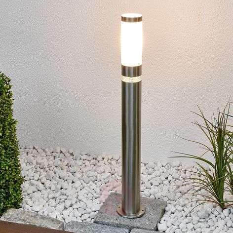 Path light Binka, made of stainless steel