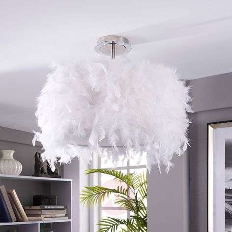 Pauline ceiling light with duck feathers-9620865-33
