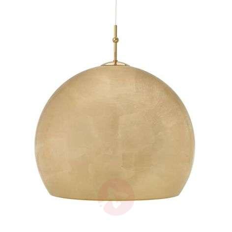 Pendant lamp Lijanu with gold leaf