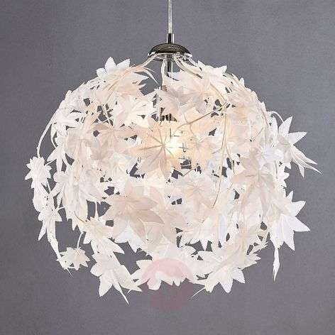 Pendant lamp Maple with leaf design