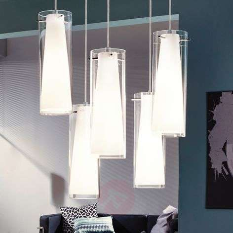 Pendant lamp Pinto - 5 Lamp