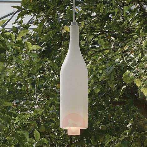 Pendant light Bacco in the shape of a bottle