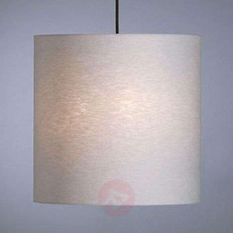 Pendant light by Schnepel, natural, linen-9030170-31