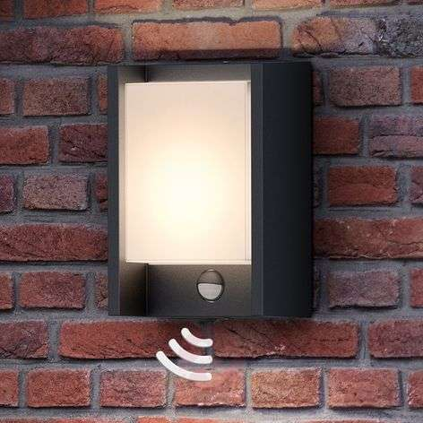 Philips Arbour LED wall light, one-bulb, sensor
