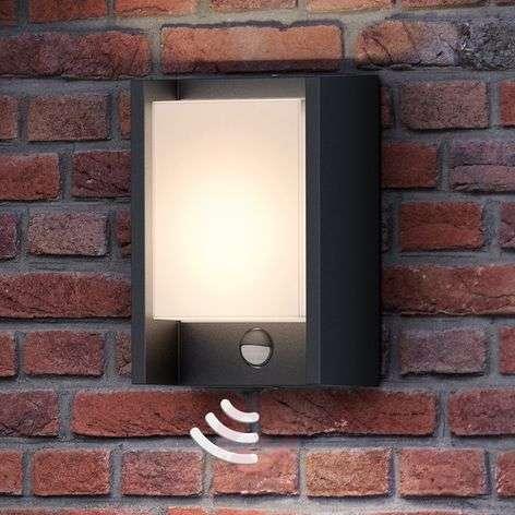 Philips Arbour LED wall light, one-bulb, sensor