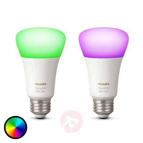 Philips Hue 2 x 10 W E27 White + Colour Ambiance