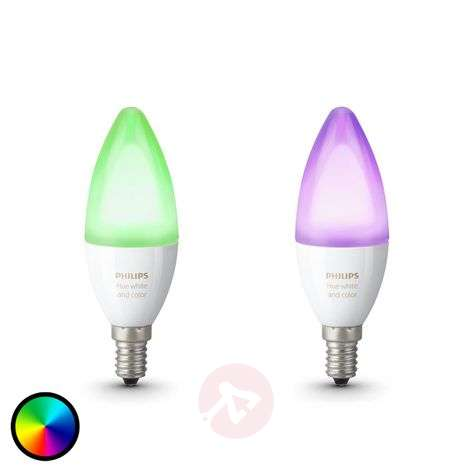 Philips Hue candle bulb RGBW E14 6.5 W set of 2