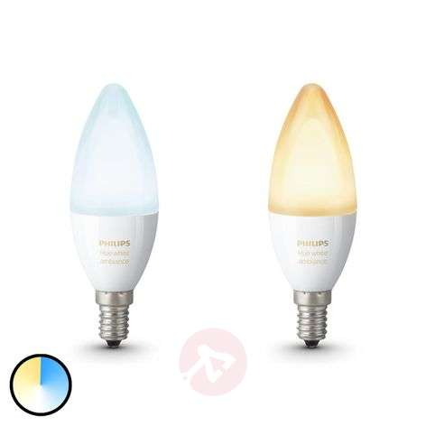 Philips Hue candle bulb White Ambiance 2 x E14-7532034-31