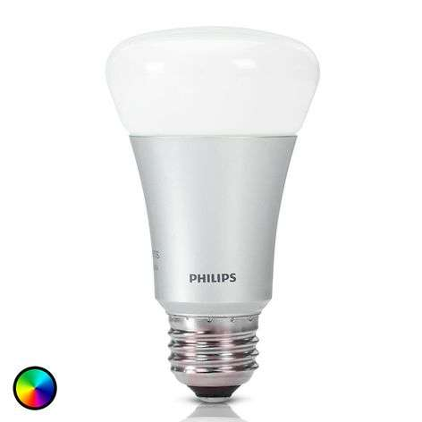 Philips Hue lamp white+color ambiance E27 10W