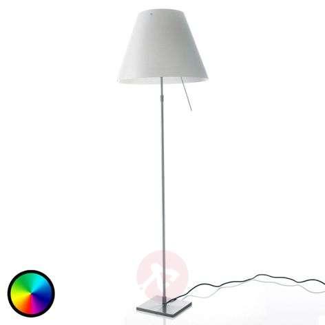 Philips Hue LED floor lamp Constanza - Adjustable