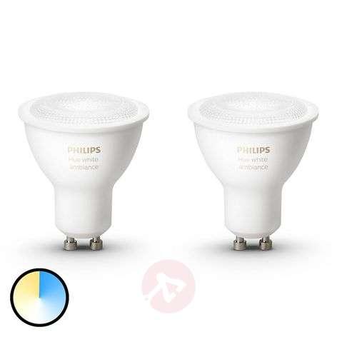 Philips HUE reflector White Ambiance GU10 2 x 5.5W