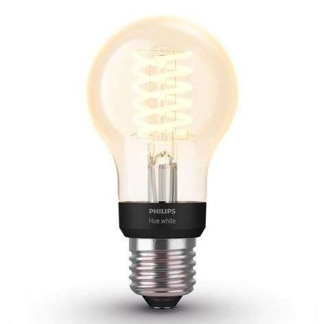 Philips Hue White 7 W E27 filament bulb Classic