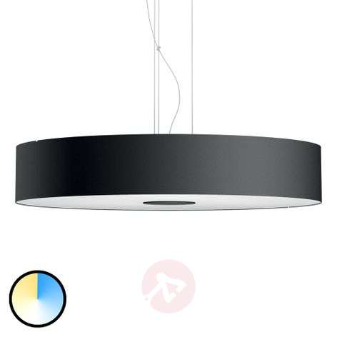 Philips Hue White Ambiance Fair pendant, black