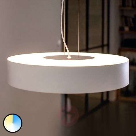 Philips Hue White Ambiance Fair pendant, white