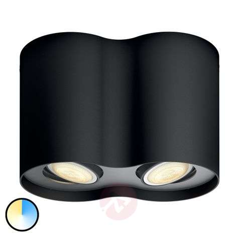 Philips Hue White Ambiance Pillar two-bulb black-7531882-31
