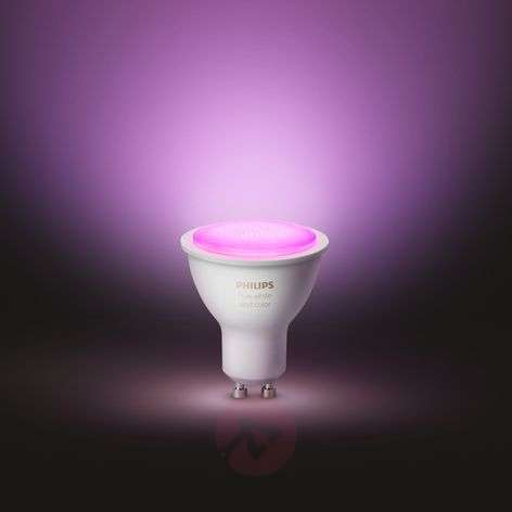 Philips Hue White & Color Ambiance 5.7W GU10, 2x