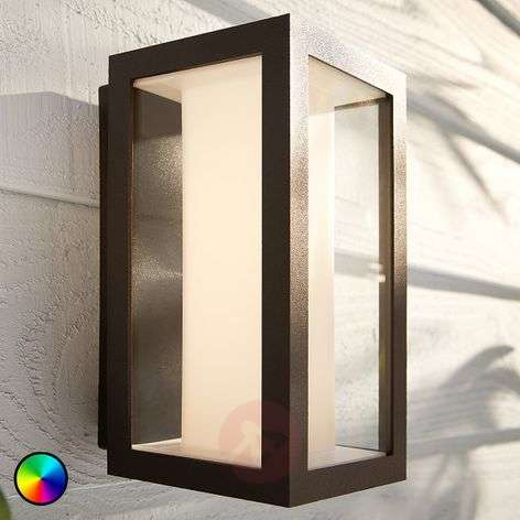 Philips Hue White+Color Impress wall light narrow
