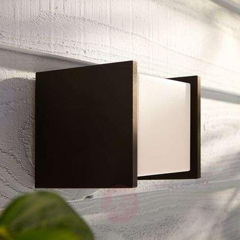 Philips Hue White Fuzo outdoor wall light, 13x14cm