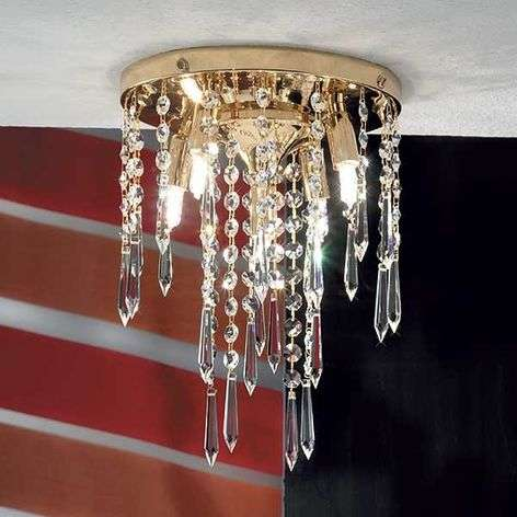 Phoebe Ceiling Light Five Bulbs Gold-Plated