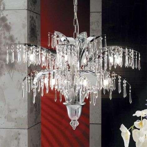 Phoebe Chandelier Twelve Bulbs Chrome