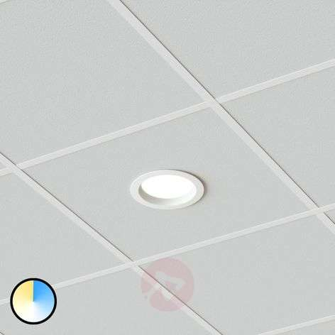 Piet LED recessed lamp 17.5 W, 3 luminous colours