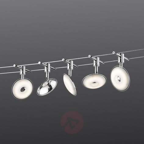 Pilatus cable system with five LED lights