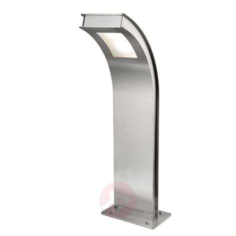 Pillar light Citos-Stand, stainless steel with LED-4502370-31