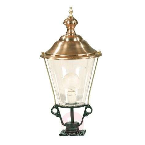 Pillar light K3b with copper top