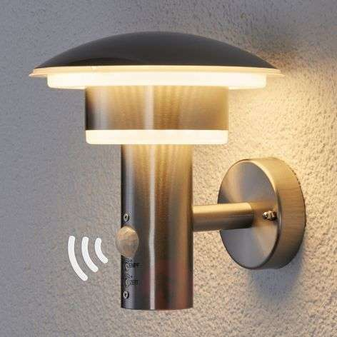 PIR outdoor wall light Lillie with LEDs-9988018-31